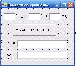 Квадратное уравнение