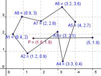 Точка в многоугольнике