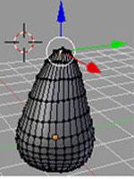 Blender. Изменение формы объекта