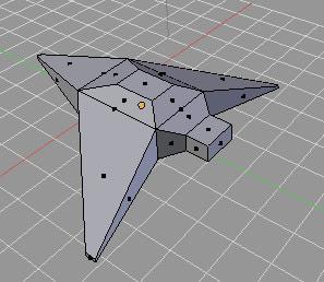 Blender, Задание на применение инструмента Extrude
