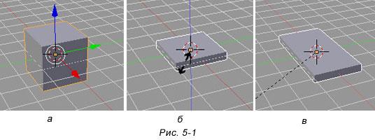 Blender. Создание модели стола