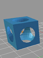Blender. Модификатор булевых операций