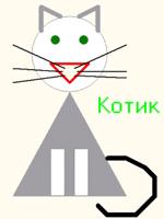 Графическое изображение, созданное в PascalABC